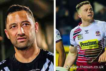 Wigan linked with move for RL great Benji Marshall – while Salford want Joe Burgess - The Sun