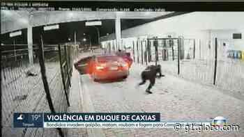 Roubo a centro de distribuição em Duque de Caxias deixa um morto e feridos nesta segunda-feira - G1