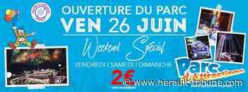 MARSEILLAN - Ouverture du parc d'attraction de Marseillan Plage vendredi 26 juin 2020 - Hérault-Tribune