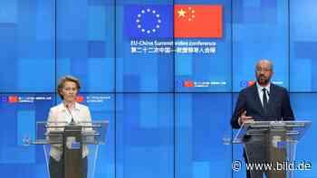 Wirtschaft und Menschenrechte - EU will Druck auf China erhöhen - BILD