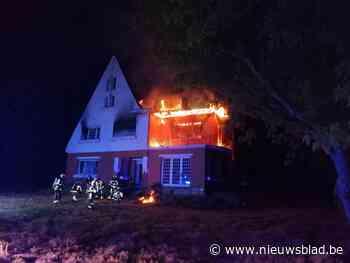 Onderzoek of brand in leegstaande villa opzettelijk werd gesticht