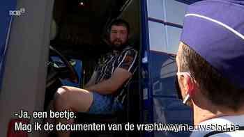 Federale Wegpolitie houdt grote controleactie op vrachtwagenchauffeurs in Bertem