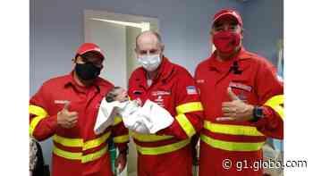Bebê nasce dentro de ambulância da Eco-101 em Guarapari, ES - G1
