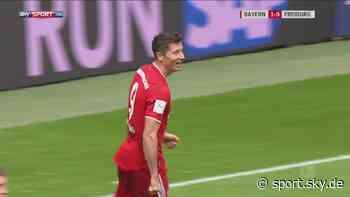 Bundesliga, 33. Spieltag: Der FC Bayern schlägt den SC Freiburg mit 3:1 - Sky Sport