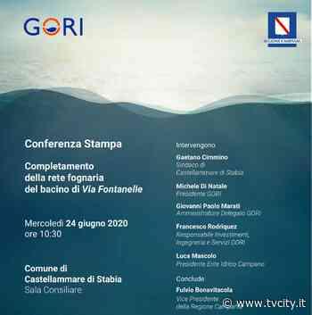Castellammare, completamento della rete fognaria del bacino di via Fontanelle: mercoledì la conferenza... - Tvcity