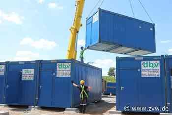 Container-Wohnanlage für Flüchtlinge wird in Stetten errichtet - Kernen - Zeitungsverlag Waiblingen