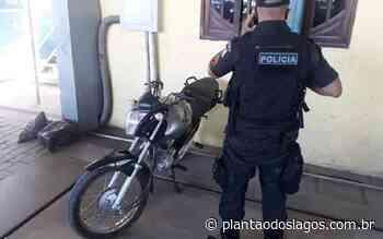 Polícia Militar recupera moto de entregador roubada em Rio Bonito no sábado - Plantão dos Lagos