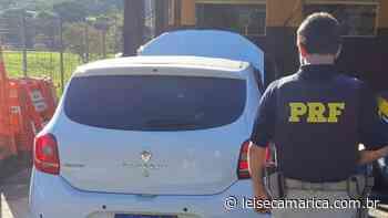 Carro roubado em Maricá é recuperado em Rio Bonito pela PRF - Lei Seca Maricá (LSM)
