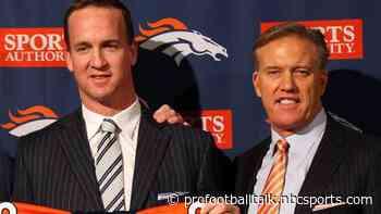 John Elway believed Peyton Manning wanted to play for Washington more than Denver