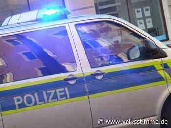 Einbrecher rasen mit Auto in Schmuckladen - Volksstimme