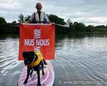 Loubegaffer – Stand-up-Paddling auf dem Wohlensee statt lustige Videos - BZ Berner Zeitung