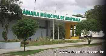 Câmara de Vereadores de Arapiraca lamenta morte de presidente do PSL. - Cada Minuto