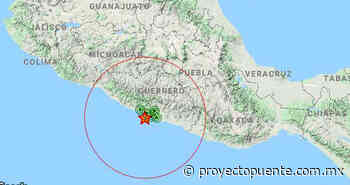 Se registra sismo de magnitud 7.5 en México: Sismológico Nacional - Proyecto Puente