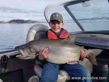 10-year-old fisherman hauls in massive lake trout from Utah's Flaming Gorge Reservoir - PennLive