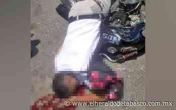 Atropellado por auto fantasma en periférico de Jalpa - El Heraldo de Tabasco