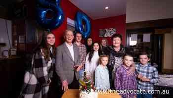 Sports and service: Wynyard icon Rhys London celebrates 80th birthday - The Advocate