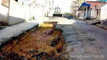 Ruas de Quatis recebem serviço de recapeamento asfáltico - Diário do Vale - Diario do Vale