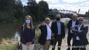 Comines-Warneton (B) : sur les rives du chantier de la Lys, le ministre Ecolo défend « l'intérêt général » de grands projets - La Voix du Nord