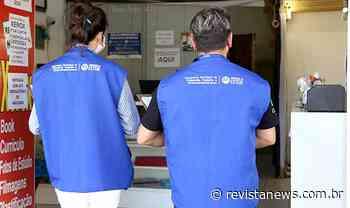 Esteio orienta comerciantes durante bandeira vermelha — Revista News - Revista News