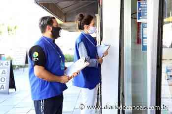 Esteio realiza fiscalização no comércio para cumprimento da bandeira vermelha - Diário de Canoas