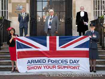 Council pays tribute to our Armed Forces in Aylesbury - Buckingham Advertiser