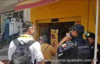 Capacitan a comerciantes de Tamazunchale para reactivación escalonada - Quadratín - Quadratín San Luis