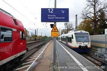 Petition gegen die Abschaffung der Direktverbindung der Münstertalbahn nach Freiburg - Staufen - Badische Zeitung