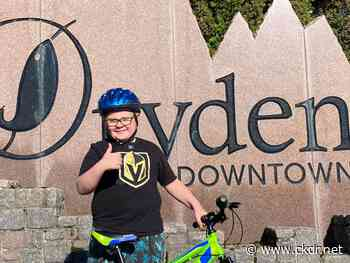 Audio: Dryden Boy Takes Lead To Help Kids Stay Active - ckdr.net