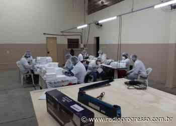Apenados de Charqueadas já produziram mais de 900 máscaras de proteção - Rádio Progresso de Ijuí