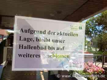 Hallenbad ist wieder geschlossen - Westfalen-Blatt