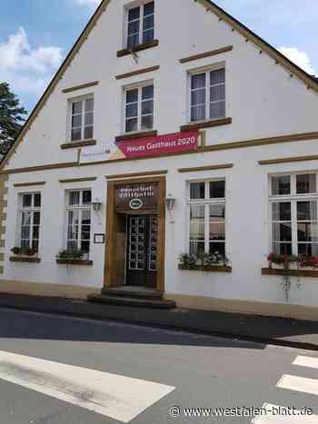 Wilhalm wird in rotes Licht getaucht - Westfalen-Blatt