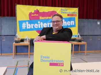 Breite FDP-Zustimmung für Andreas Hanhart - Westfalen-Blatt
