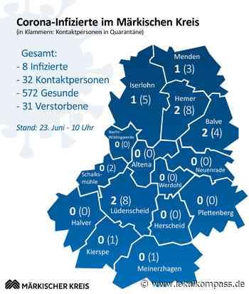 Märkischer Kreis: Ein weiterer Coronafall in Hemer– Gesamtzahl bleibt stabil - Hemer - Lokalkompass.de