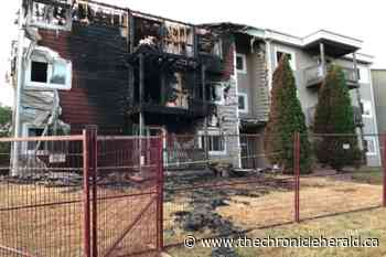 Fundraising underway for tenants displaced by North Kentville apartment fire - TheChronicleHerald.ca
