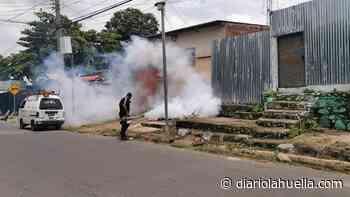 Alcalde Héctor Orellana informa que se fumiga casa por casa en Sonzacate - Diario La Huella