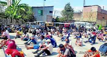 Satipo: Detienen a más de 70 personas por incumplir estado de emergencia en el Día del Padre - Diario Correo