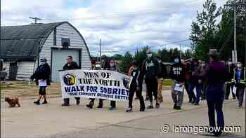 Walk for Sobriety in La Ronge finds support - larongeNOW