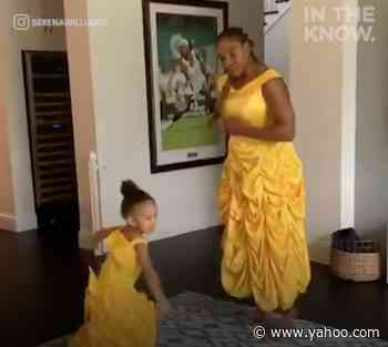 Serena Williams and daughter Alexis have been having Disney dance parties - Yahoo Lifestyle
