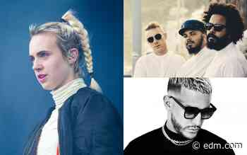"""""""Lean On"""" by Major Lazer, DJ Snake, and MØ Crowned as Decade's Biggest Summer Song by Kiss FM and Shazam - EDM.com"""