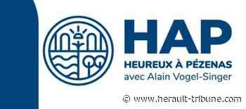 PEZENAS - Lettre d'Alain Vogel-Singer adressée aux Piscénoises et Piscénois - Hérault-Tribune