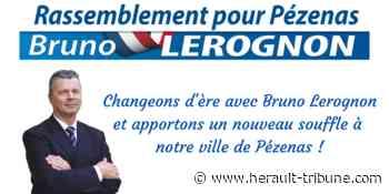 PEZENAS - Un nouveau souffle à Pézenas avec Bruno Lerognon - Hérault-Tribune