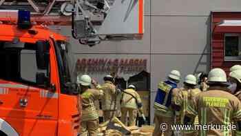 Fassadenbrand am Gemeindearchiv Planegg - merkur.de