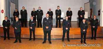 Bodman-Ludwigshafen: Feuerwehrleute in Bodman-Ludwigshafen wählen ihre Chefs - SÜDKURIER Online