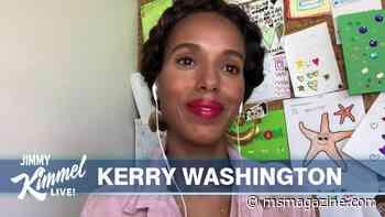 We Heart: Kerry Washington Urges Teaching Black History Before Slavery - Ms. Magazine
