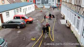 À Bernay, les sapeurs-pompiers en exercice... à la Maison paroissiale ! - Paris-Normandie