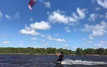 Tarnos : un kitesurfeur en difficulté secouru au large de la plage du Métro - Sud Ouest