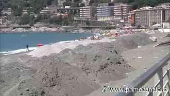 Genova, ripascimento spiaggia di Voltri: dal prossimo fine settimana dovrebbe essere pronta, Genova - Primocanale
