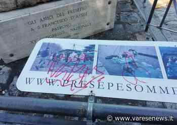 Laveno Mombello, vandalizzati i cartelli della statua di San Francesco - Varesenews