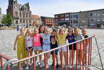 En plots werd het Marktplein een speelplaats (Wijnegem) - Het Nieuwsblad