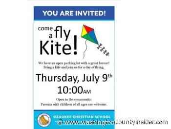 Kite flying day at Ozaukee Christian School   By Janet Swartz - washingtoncountyinsider.com